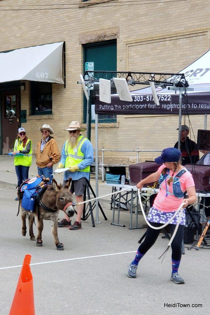 Burro Racing in Idaho Springs, Colorado Race Your Ass Off. HeidiTown (14)