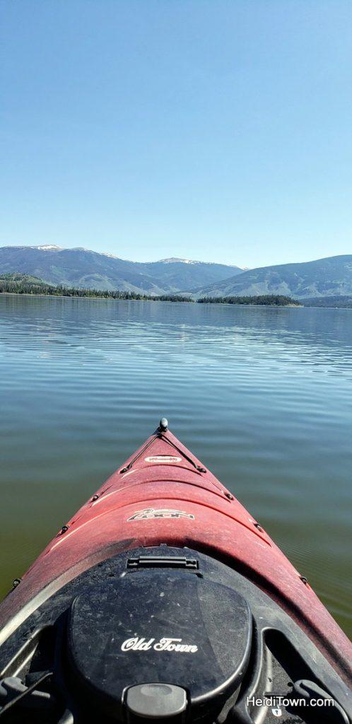 Kayak Lake Dillon From Frisco Bay Marina in Frisco, Colorado. HeidiTown (2)