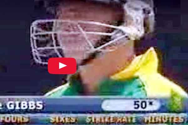 World Record 6 batsmen hit 6 sixes six consecutive deliveries in one over.