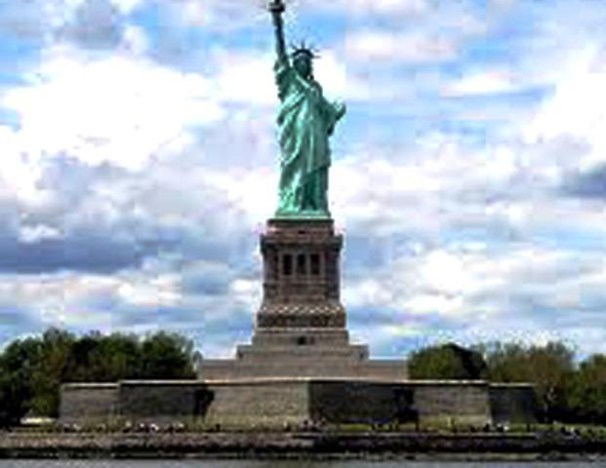Liberty Statue Welcome To United State Of America