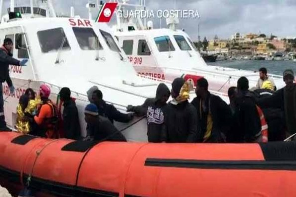 UN refugee agency said motorboats sank 200 migrants dead other 203 swallowed by waves in Mediterranean sea.