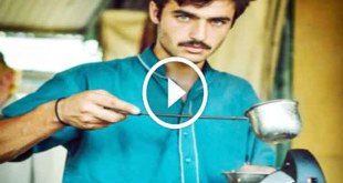 Handsome ChaiWala tea seller starts modelling in online company 8