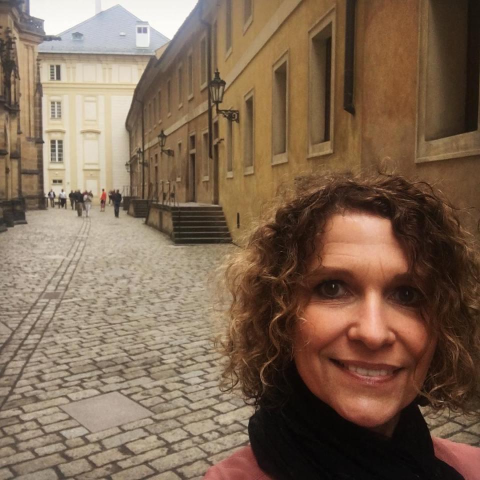 Heute in Prag muss ich wieder fter hin So schn!