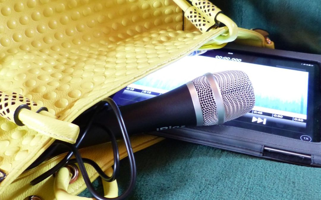 Mobile-Reporting: Podcast-Studio in der Handtasche