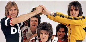 Bay City Rollers mit Alain