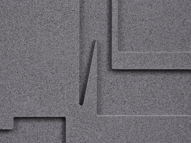HZ, o.T., 2013, Beton, 58 x 58 cm