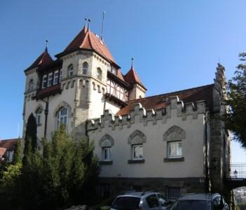 """Studienhaus der akademischen Verbindung """"Igel"""" in Tübingen"""