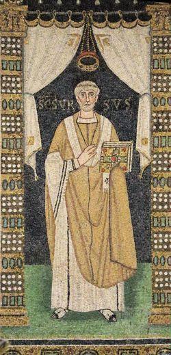 sveti Urs iz Ravene - škof