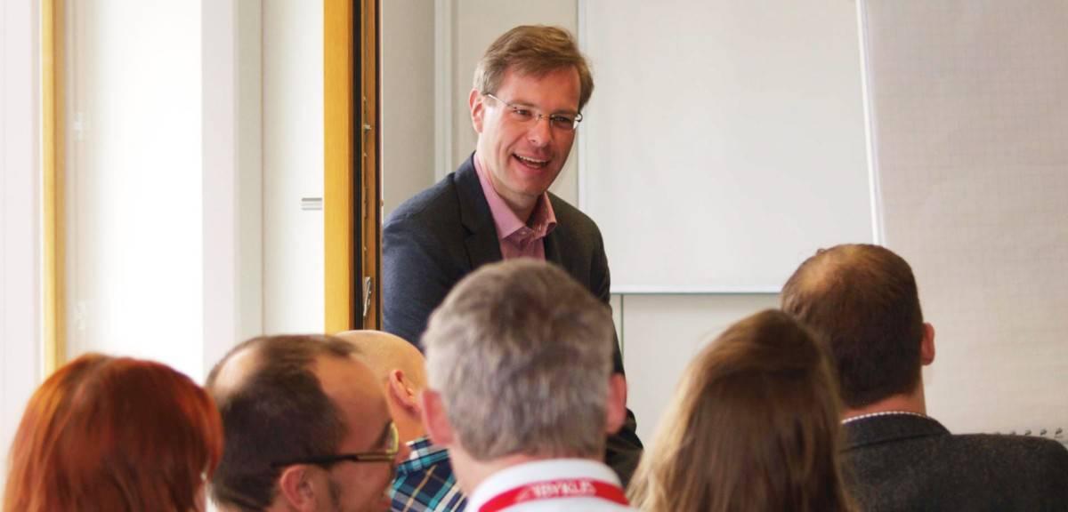 Gregor Heilmaier, Workshop, Vortrag