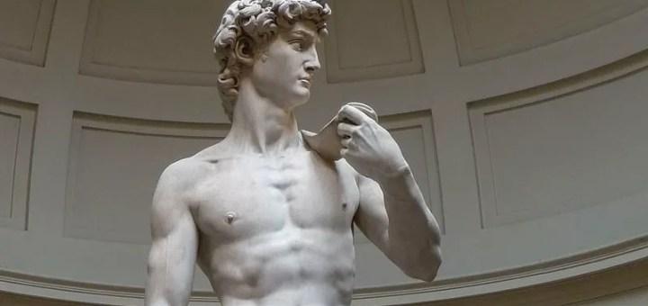 "Michelangelos ""David"", Bild: wikimedia - Jörg Bittner"