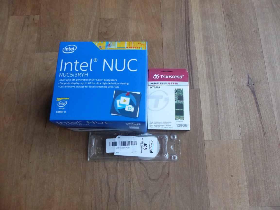 Intel NUC NUC5i3RYH Einbau Memory und SSD