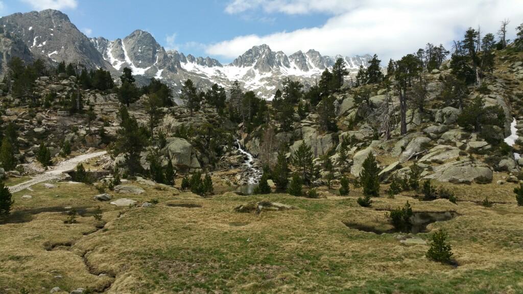 Tag 3 Pyrenäen - Wanderung Espot - Estany Negre de Peguera