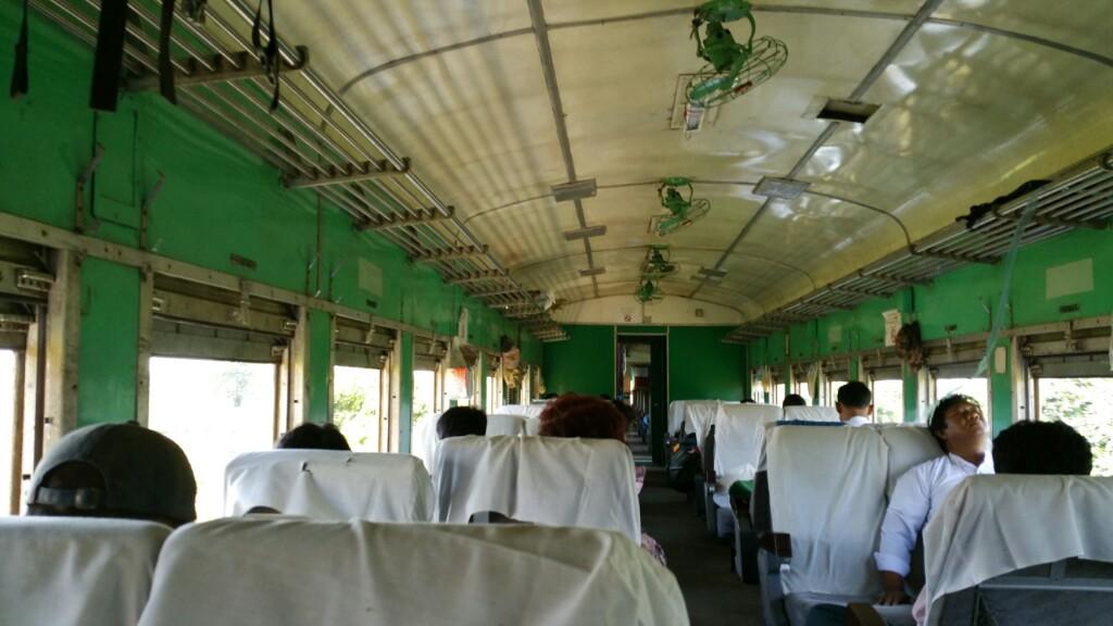 Myanmar – Tag 16 Zugfahrt Bago - Yangon und Besichtigung