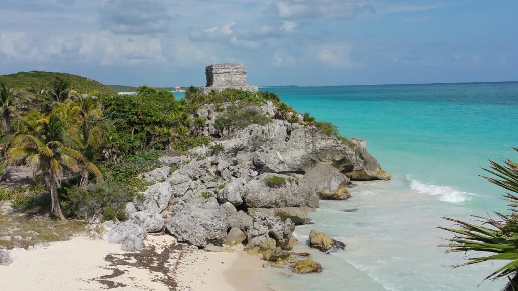 Mexico Tag 18 - Anfahrt Chichén Itzá und Tulum