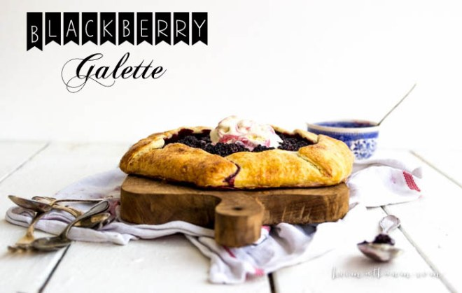 Blackberry Galette text
