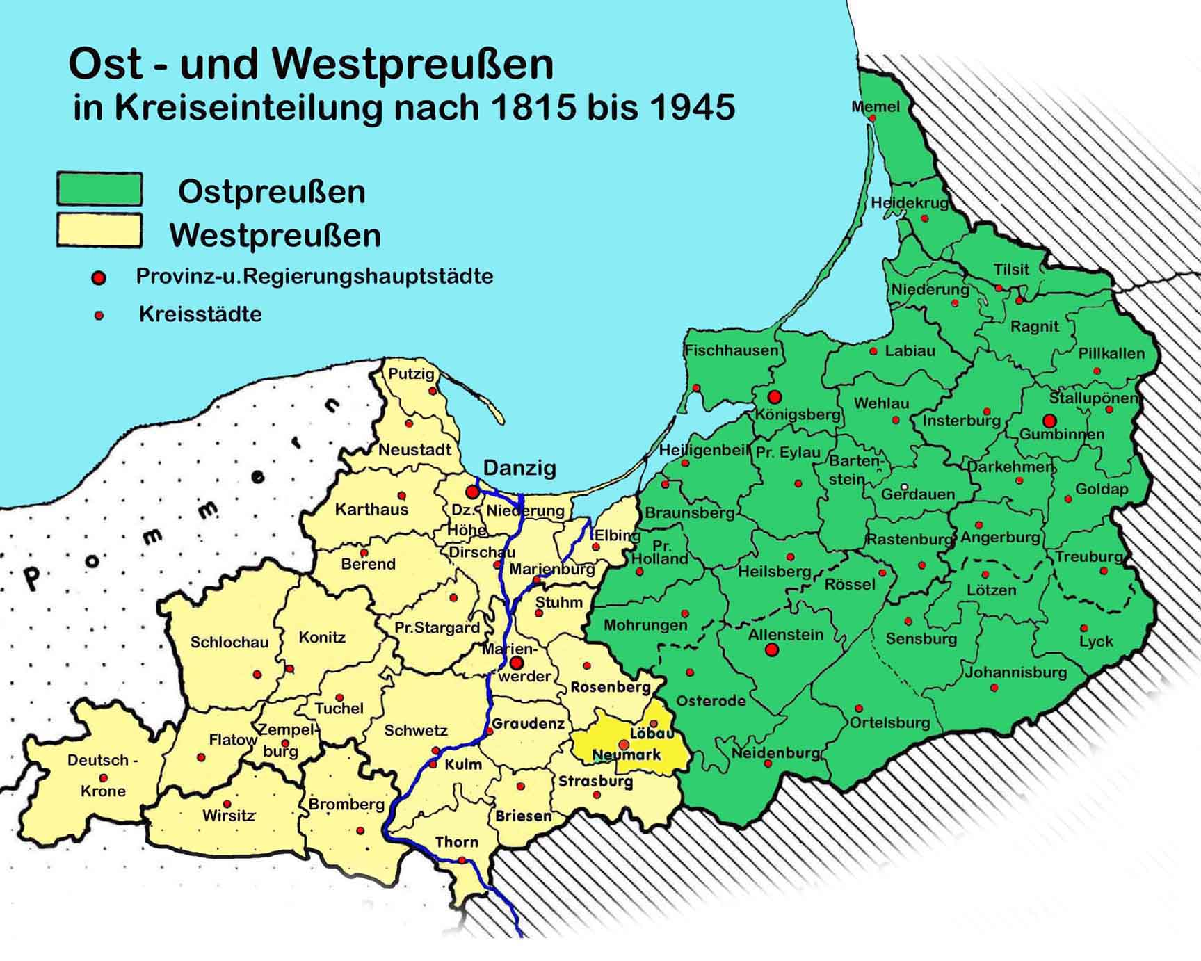 Wo Liegt Preußen Heute
