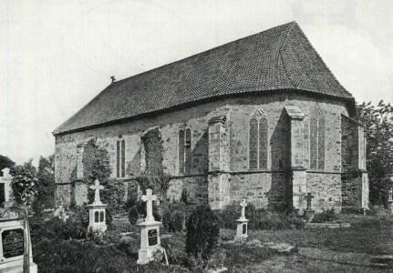 Kirche Sachsenhagen aussen WENNER