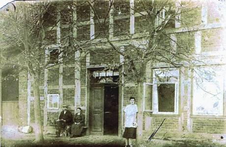 Mei01 14K 1925Heinrich Aue Lina geb Pape Helena