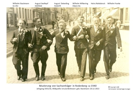 1108 1940 Berkmann Stackmann Musterung
