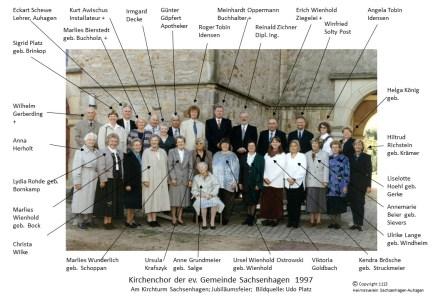 1113 1997 Kirchenchor Sachsenhagen Jubiläum