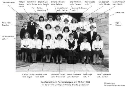 1517 1978 Konfirm Sachsenhagen