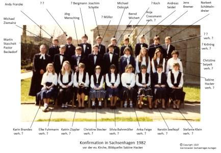 1519 1982 Konfirm Sachsenhagen