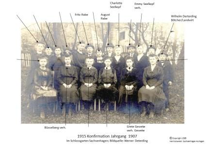 1527 1907 Konfirm Sachsenhagen