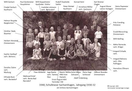 1903 1940Schulklasse Jahrg 1931
