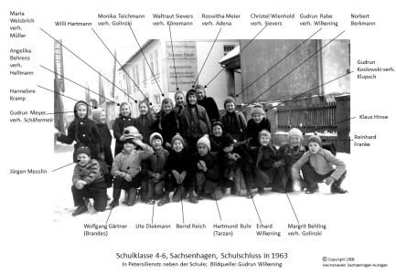 1908 1963 Klasse 4-6 Winter