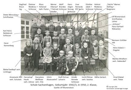 1910 1950 Schule geb1942