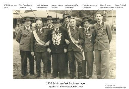 2002 1956 Schützenfest