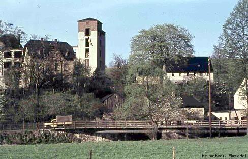 Doktorbrücke Einsiedel - die 1950er Jahre