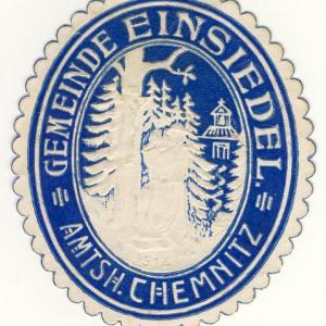 Gemeindesiegel Einsiedel 1914