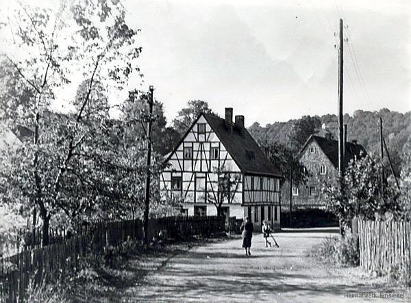 Einsiedel Rosenstraße 12 1950er Jahre