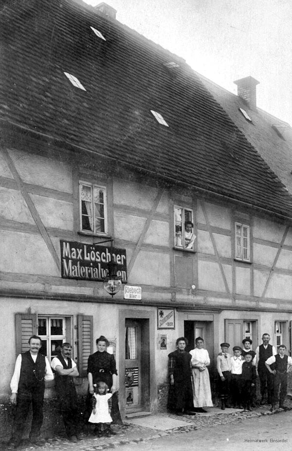 Materialwaren-Handel Rosenstraße 8