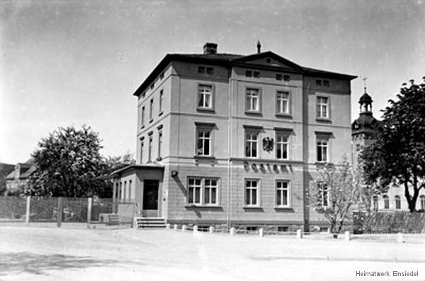 Einsiedler Hauptstraße 66 Deutsche Reichspost