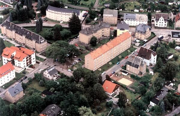 Seydelstraße und August-Bebel-Platz 1999