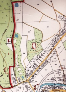 Am Knorrberg Einsiedel Karte 1928