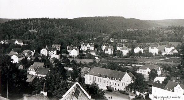 Gasthof Einsiedel und Ostheim um 1935