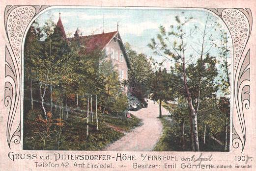 Gruß von der Dittersdorfer Höhe