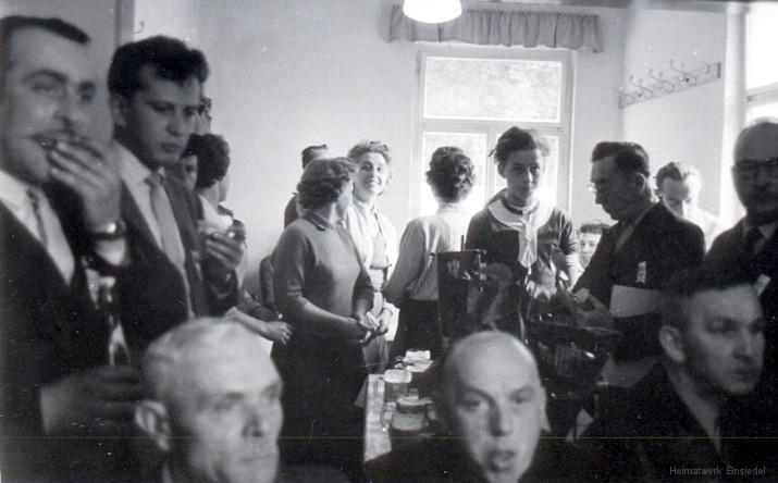 Sport- und Weihefest Sportlerheim Einsiedel 1959