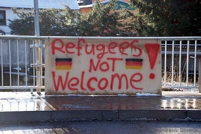 Refugees not welcome!