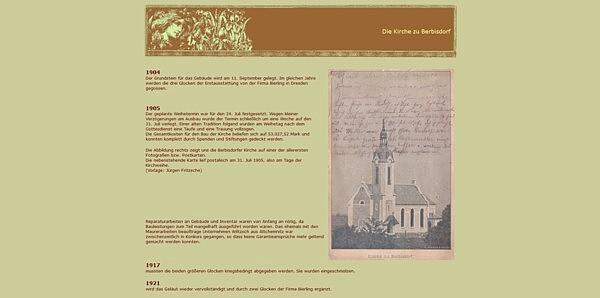 Screenshot Heimatwerk Einsiedel alter Version