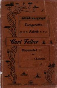 Buchdeckel Felber