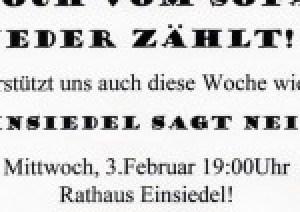 Demo Einsiedel 03.02.2016 Flyer