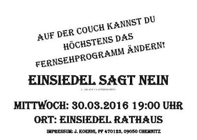 Demo 30.03.2016 Flyer