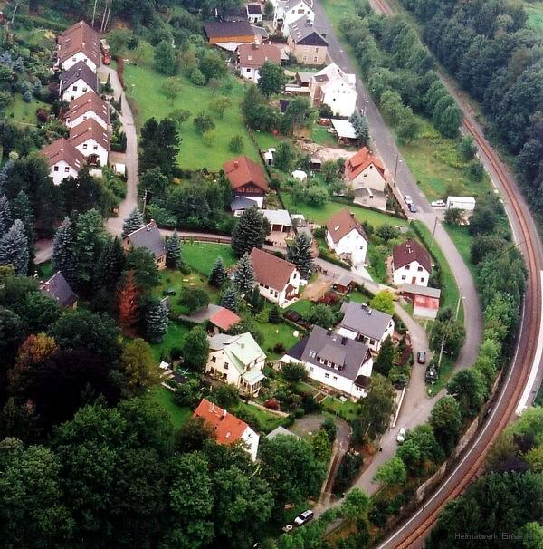 Luftbild Am Hübel 17. August 2005