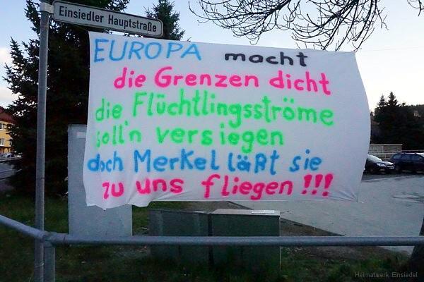 Banner am 04.04.16 in Einsiedel