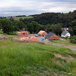 Häuser im Bau an der Erich-Parthey-Str. in Einsiedel