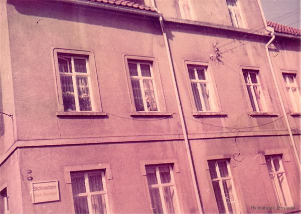 Hauptstraße 120 in Einsiedel im Mai 1976